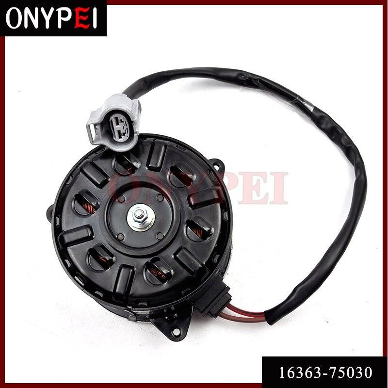 16363-75030 168000-4810 silnik wentylatora elektrycznego dla toyota hiace podmiejskich 1680004810 1636375030 16363 75030