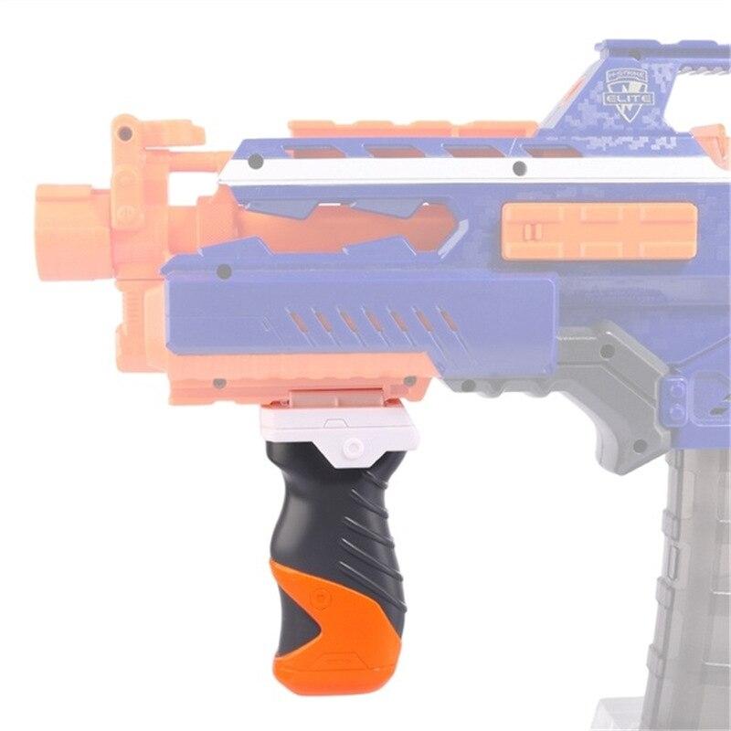 Toy Soft Bullet Gun Accessories For NERF Series Gel Blaster Toy Gun Handle Front Grip For Airsoft Gun Pistol Air