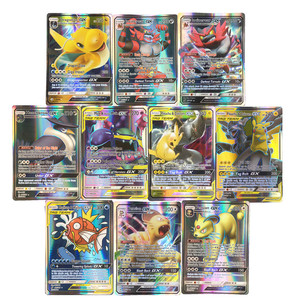60-200pcs New Pokemon cards Tag Team GX EX MEGA Cards Pokemones English Pikachu Cards Toys For Kids Gift High Quality No Repeat(China)