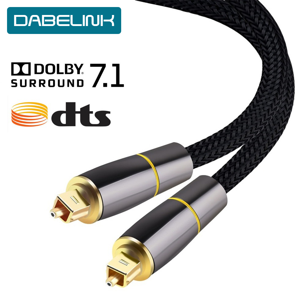 Coaxial Spdif Cable Dolby 7 1 Soundbar 5 1 Digital Optical Audio Cable Toslink Fiber Cable For Amplifiers Player Xbox 360 Aliexpress