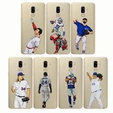baseball cartoon Bryce Harper cover Capinha soft silicone phone cases Coque fundas capa for Samsung J3 J4 J5 J6 J7 J8 Plus Prime
