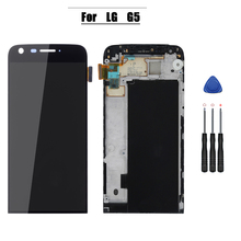 Display for LG G5 H850 H840 H860 with touch screen digitizer assembly with frame replacement parts цена в Москве и Питере