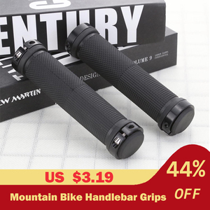 2pcs/1 Pair Mountain Road Cycling Bike Bicycle MTB Handlebar Cover Grips Smooth Soft Rubber Anti-slip Handle Grip Lock Bar End(China)