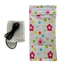Bottle-Warmer Heated-Cover Feeding-Bottle Milk Newborn-Baby Portable Care Usb-Charging