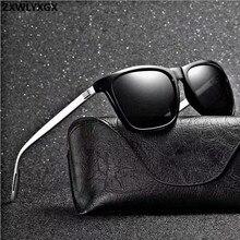 ZXWLYXGX Brand Unisex Retro Aluminum+TR90 Women Sunglasses M