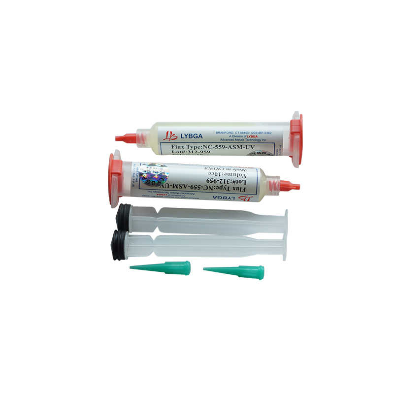 LY 10cc NC-559-ASM-UV pasta topnikowa bezołowiowa pasta lutownicza Flux z igłami tłok strzykawka miotacz zestaw do reballingu bga