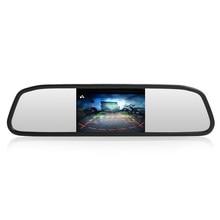 Samochodowy Monitor z widokiem z kamery cofania wideo HD Monitor automatycznego parkowania ekran TFT LCD 4.3 wyświetlacz z opakowanie detaliczne