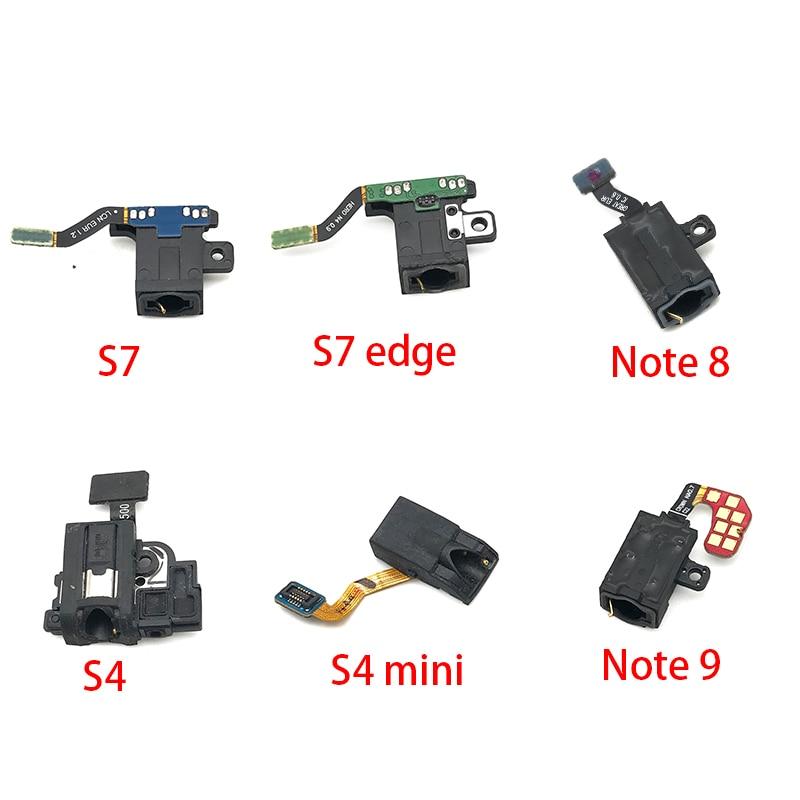 10pcs/lot,Earphone Headphone Jack Audio Flex Cable Ribbon For Samsung Galaxy S10 S10e S9 S8 Plus S7 S7 Edge S4 Mini Note 8 9