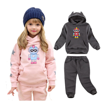 V TREE dziecięca aksamitna odzież zestaw 2020 zimowy dres dla dziewczynek sportowy strój dla chłopców roupas infantis menino odzież zestawy