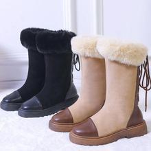 Новые модные пикантные элегантные ботинки на высоком каблуке из pu искусственной кожи на шнуровке туфли-лодочки зимние мягкие и удобные женские ботинки на танкетке