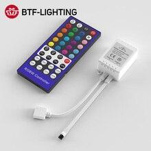 DC12-24V RGBW Controller Dimmer 40Key 5Pins IR Remote Control 4 Channels LED Controller For SMD 5050 RGBW RGBWW LED Strip Lights