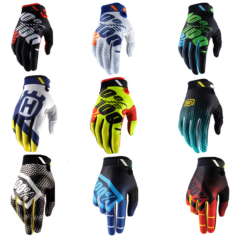 New Outdoor Full Finger Motorcycle Gloves Riding Gloves 100% Energetic Young Racing Gloves Waterproof Windproof Luvas Motocross