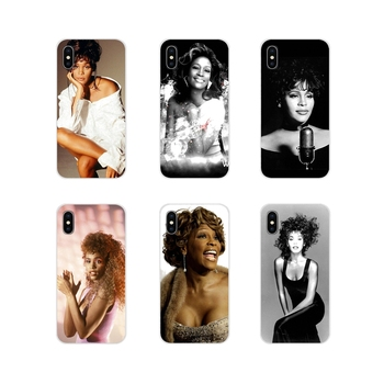 Accessories Cases Cover Sexy Singer Whitney Houston For Oneplus 3T 5T 6T Nokia 2 3 5 6 8 9 230 3310 2.1 3.1 5.1 7 Plus 2017 2018 image