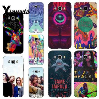 Yinuoda Tame Impala Black Cell Phone Case for Samsung GALAXY S6 Edge S7 S7 Edge S8 S9 plus s20 s10 s20 ultra s10plus image