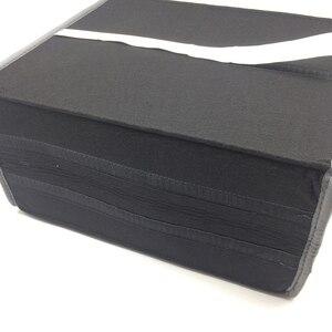 Image 4 - Buendeer 35x30x20 см органайзер для багажника автомобиля Складная войлочная сумка для хранения Нескользящая противопожарная автомобильная сумка для багажника для продуктов Органайзер серый/черный