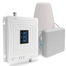 Gsm 3G 4G Signaal Versterker 900 1800 2100 Tri Band Booster 2G 3G 4G lte 1800 Cellulaire Signaal Versterker Mobiele Telefoon Signaal Repeater