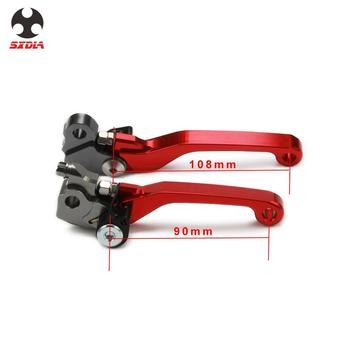 For Honda CRF250R CRF450R CRF 250R 450R 2007 2008 2009-2020 CRF450RX 2017 Brake Handle CNC Motorcycle Clutch Brake Lever Handle image