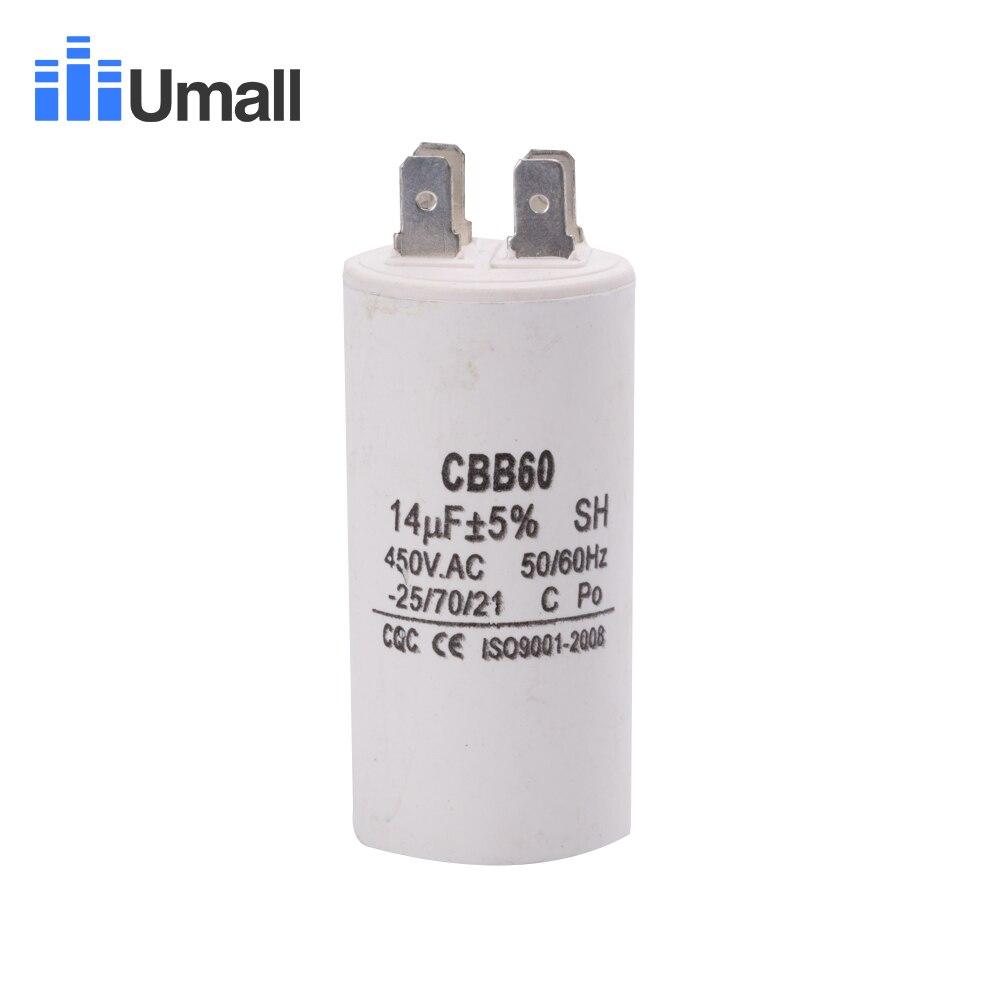 Condensatore del motore AC 35 uF 450V CBB60