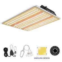 Phlizon grow light led panel 1000W waterproof dimmable full spectrum grow lamp