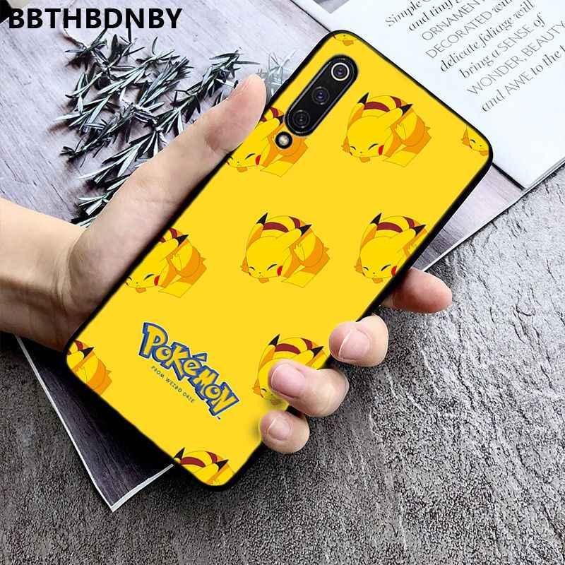 Etui na telefon Pikachue film Coque Shell etui na telefon xiaomi 8 9 se Redmi 6 6pro 6A 4X7 uwaga 5 7
