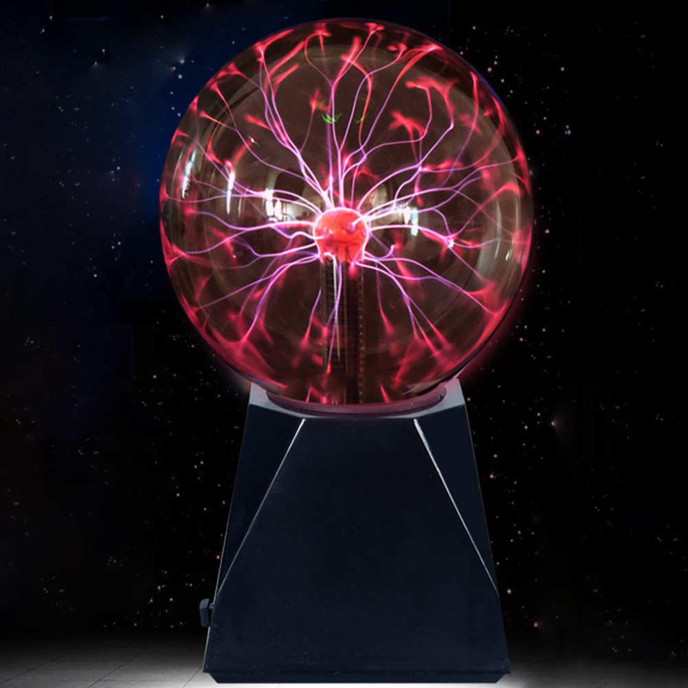 Light Lamp Ball Electrostatic Flashing Plasma Electricity Gift Pretty Fun Party Cool Toys Science Magical With Power Adapter