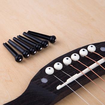 6 sztuk gitara sworznie pomostowe klasyczny styl akustyczna 6 strunowa gitara sworznie pomostowe muzyczne instrumenty strunowe akcesoria gitarowe tanie i dobre opinie Ue wtyczka bridge