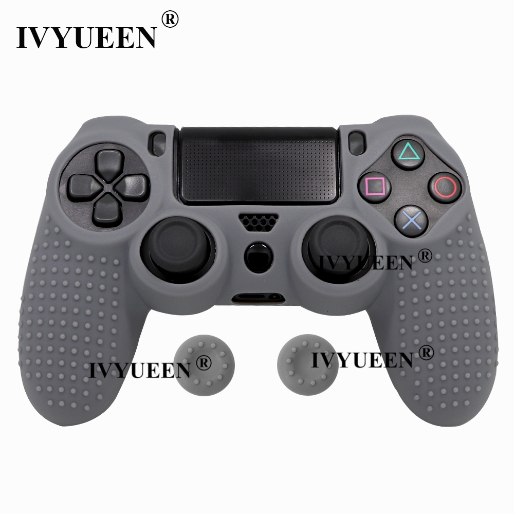 for Sony PlayStation dualshock 4 ps4 pro slim controller silicone case skin 18