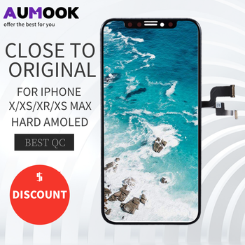 For iPhone x lcd touch screen AMOLED display Digitizer Assembly With 3D Touch no dead pixel For iPhone X XS XS MAX XR LCD 11 lcd 100% tested lcd pantalla for iphone x lcd xs xr 11 screen lcd display touch screen digitizer assembly for iphone x xs xsmax oled