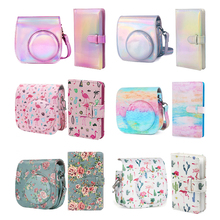 Retro Shoulder Bag Anti Fall Camera Bag Case + Album for Fujifilm Instax Mini 11 8 9 mini11 Pu Leather Camera bag