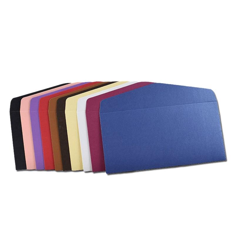 11x22Cm 30Pcs Classical Kraft Envelopes European Retro Paper Envelope Blank Envelopes Office Supplier Stationery