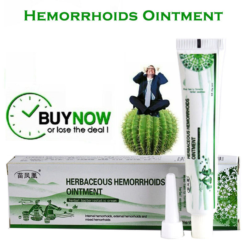 Herbal Hemorrhoids Ointment Anti Inflammatory Detumescence Cool Piles Treatment Cream|Patches|   - AliExpress