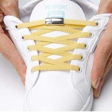 1 пара магнитных шнурков эластичные фиксирующие шнурки креативные