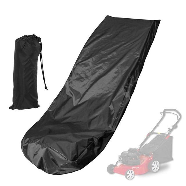 Waterproof Dust Rain Proof Outdoor Garden Sunscreen Lawn Mower Cover Dustproof Weeding Machine Cover Dust Cover Protection 1