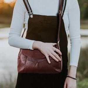 Image 3 - كوبلر ليجند 2020 جلد طبيعي للنساء رسول/حقيبة كروسبودي السيدات حقائب كتف صغيرة خمر حقائب جلد البقر الإناث