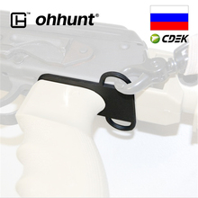 Tactical ohhunt Hunting 7.62x39 AK 47 Sling Adapter Steel Ambidextrous Dual Loop for 4 or 6 Position Stock
