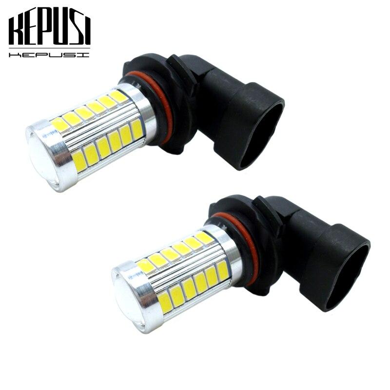 2x 9006 HB4 Car LED Fog Lamp LED DRL Fog Light Driving Lamp Bulb White Blue For Nissan Murano 2003-2007 Altima 2002-2004