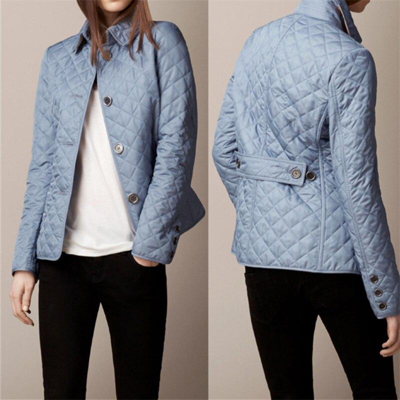 2020 Jacket Women Winter Fashion Warm Thick Solid Short Style Cotton padded   Parkas   Coat Turn Down Collar XL XXL XXXL