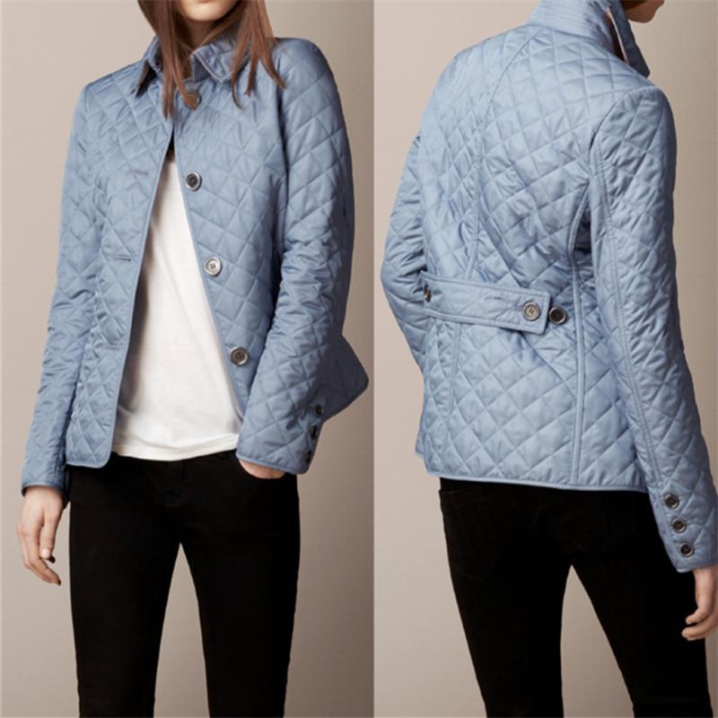 2020 Autumn Winter Fashion Jacket Women Cotton Coat Fashion Womens Plus Size Single Breasted Female Jacket Slim Feminine Coat