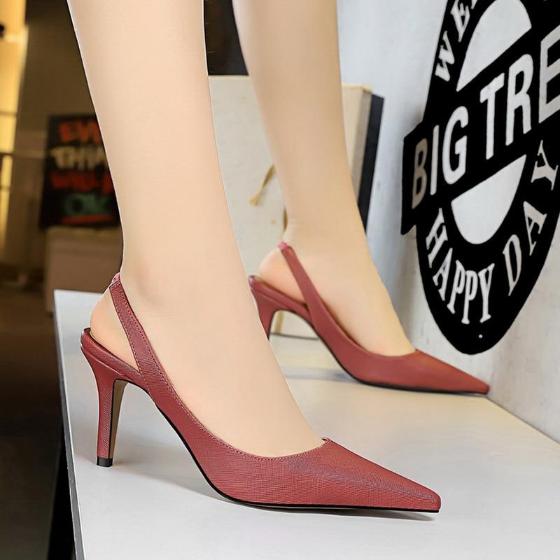 Women Shoes Spring Heel Woman High Heels Women Pumps Ladies Office Shoes Pointed Toe Heels