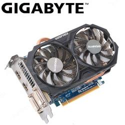 GIGABYTE GTX 750 Ti Original Graphics Gamer PC Card with NVIDIA GeForce GTX 750Ti GPU 2GB GDDR5 128 Bit Video Card Used Card