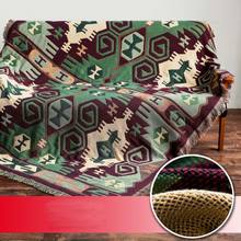 Bohemian Knitted Throw Thread Blanket On The Bed Tablecloth Sofa Towel Plaid Bed Tapestry Bedspread Soft Plaid(China)