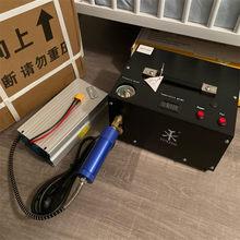 Txet061 4500psi 300bar pcp compressor de ar alta pressão da bomba compressor para pneumático airgun scuba rifle inflator 12v/220v/110v