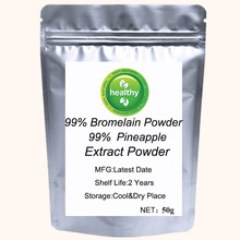 Pineapple Extract 99% Pure Bromelain Powder Light Enzymes Nutrient Skin Whitening Anti-cancer and Removing Spots