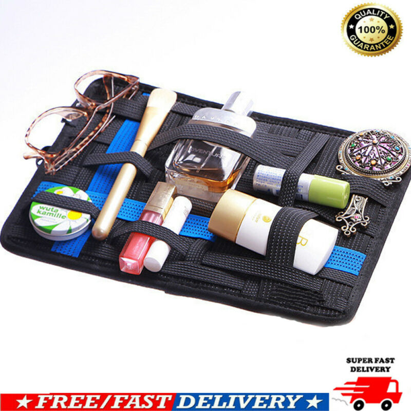 2020 HOT Mobile Phone Accessories Elastic Storage Board Electronic Organizer Storage Bag Digital Device Container Shee