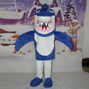 Cartoon Dolphin Fish Shark Mascot Costume Cosplay Party Fancy Dress Outfits Halloween Adults Character Advertising Parade New