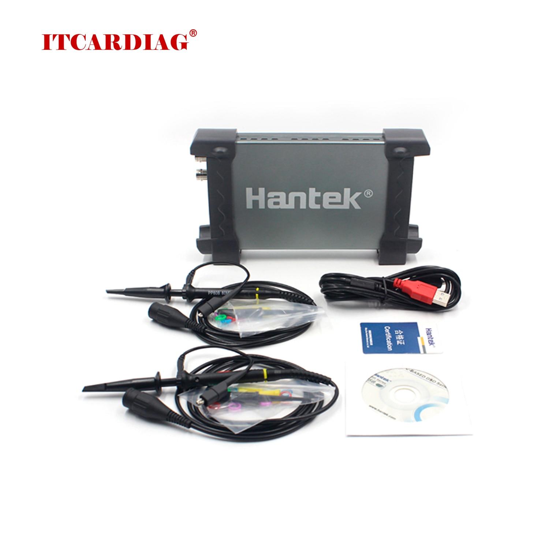 Hantek 6022BE Laptop PC USB Digital Storage Virtuelle Oszilloskop 2 Kanäle 20Mhz Handheld Tragbare Auto Diagnose Osciloscope