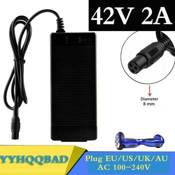 42V 2A Universal Battery Charger for Hoverboard Smart Balance Wheel 36v electric power scooter Adapter Charger EU/US/AU/UK Plug