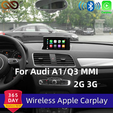 Sinairyu Aftermarket A1 Q3 Mmi Rmc Oem Wifi Draadloze Apple Carplay Interface Retrofit Voor Audi Met Touch Screen Reverse Camera(China)