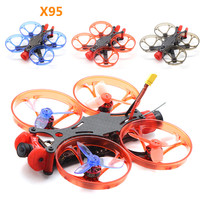HSKRC X95 95mm 2inch Micro Mini Carbon Fiber FPV Frame Kit for BetaFPV Cine Whoop RC Drone FPV Racing