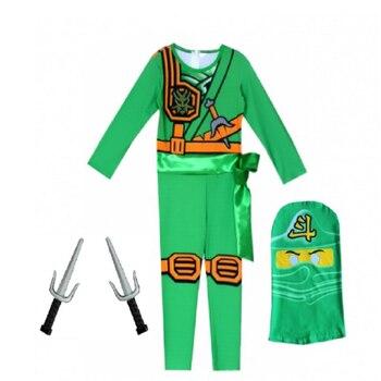LEGO NINJAGO costume Advanced Latest Jumpsuit Set Halloween Christmas Party gift cosplay